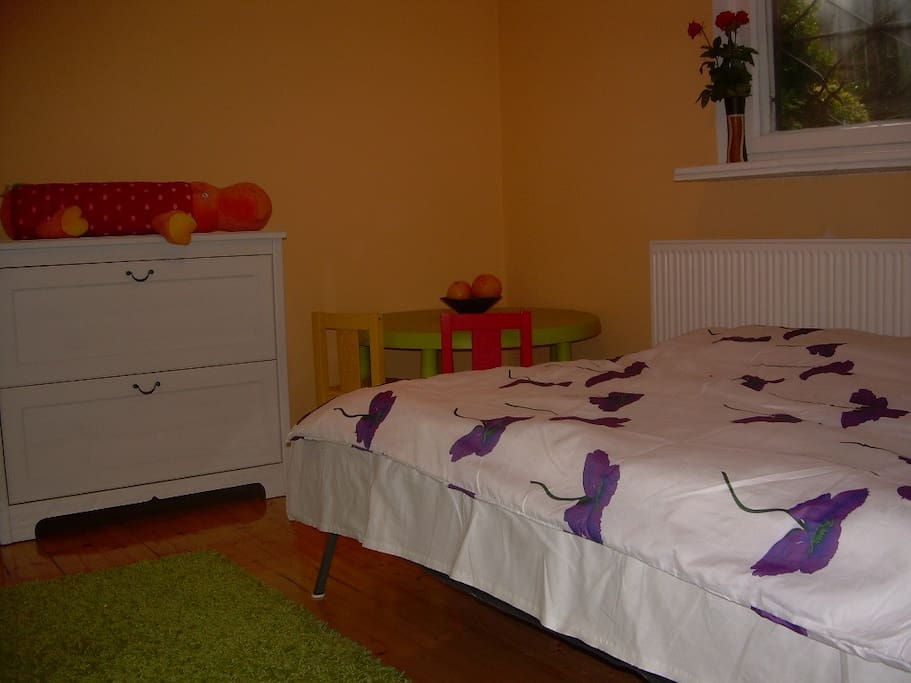 The second room with a double bed