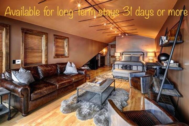 Loft 42...Skaneateles Village for long-term stays