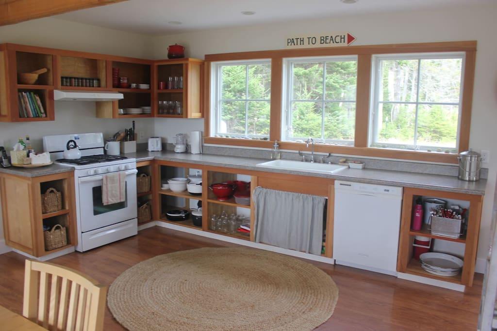 Kitchen at 222