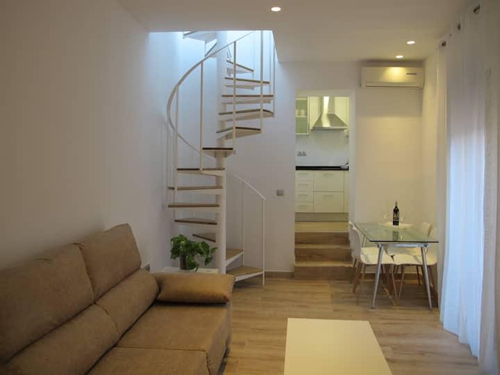 Céntrico Apartamento 1 dormitorio con terraza