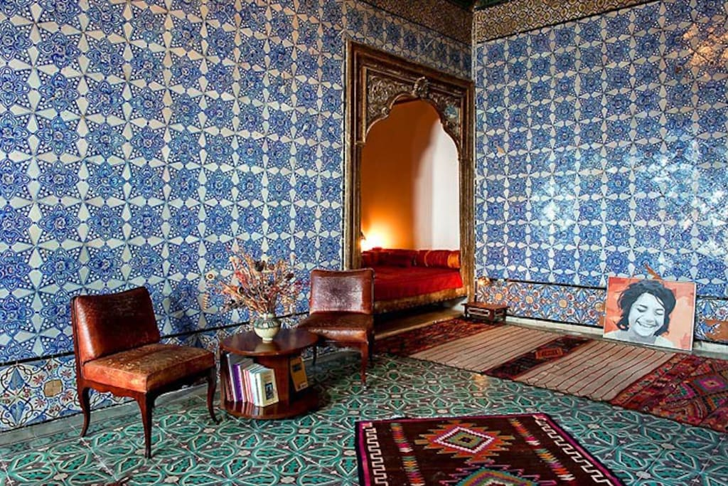 La chambre bleue tunis 39 medina bed breakfasts for for Chambre bleue tunis