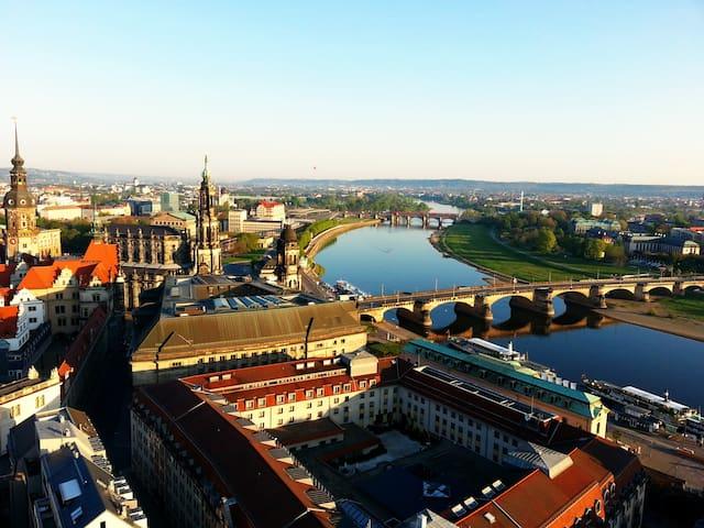 Ferienwohnung an der Stadtgrenze Dresden - Kreischa