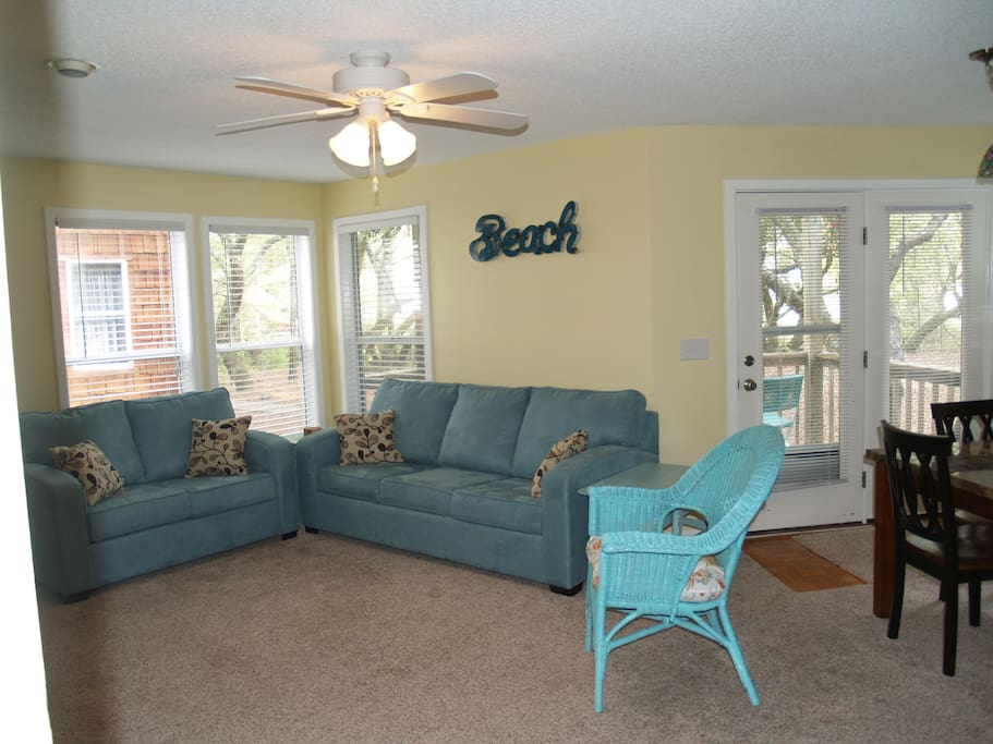 Another view of our beautiful living room