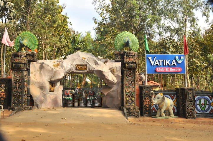 Vatika club and resort(with private and cool stay)
