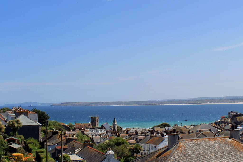 Panoramic Views over St Ives Bay