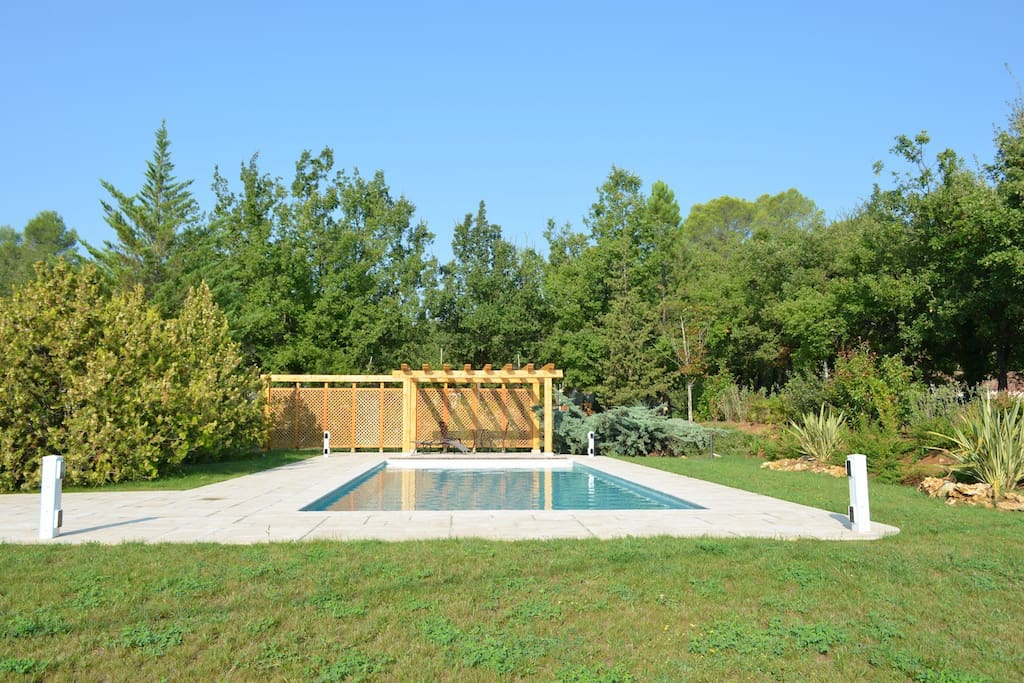 Swimming pool and grounds (recently added table tennis and kids swings)