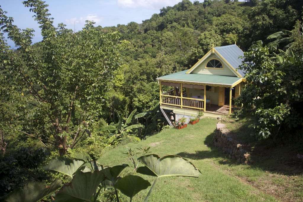 Good Moon Cottage On Organic Farm Cabins For Rent In