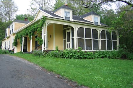 Historic Berkshire Farmhouse - Middlefield - Rumah