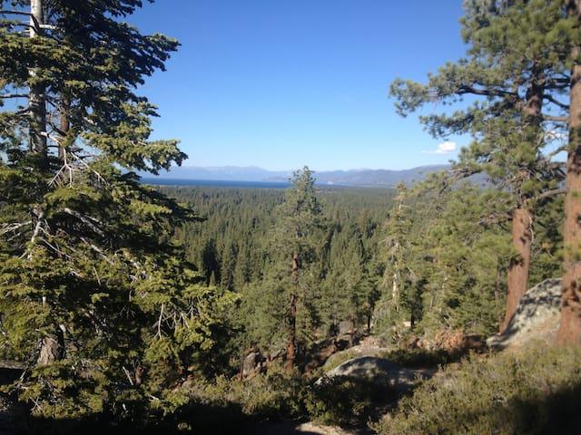 Old fashion South Lake Tahoe cabin