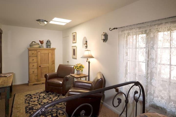 The Wisteria Room in the Hacienda Nicholas - Alexander's Inn - Hacienda Nicholas - The Madeleine