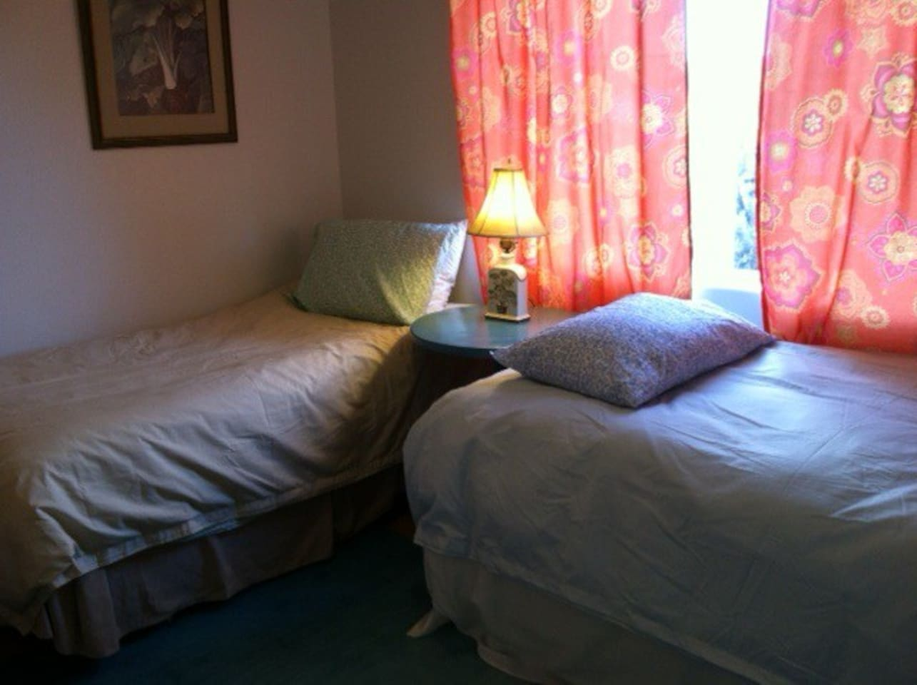 Clean, comfortable guest room - perfect for one or two travelers.
