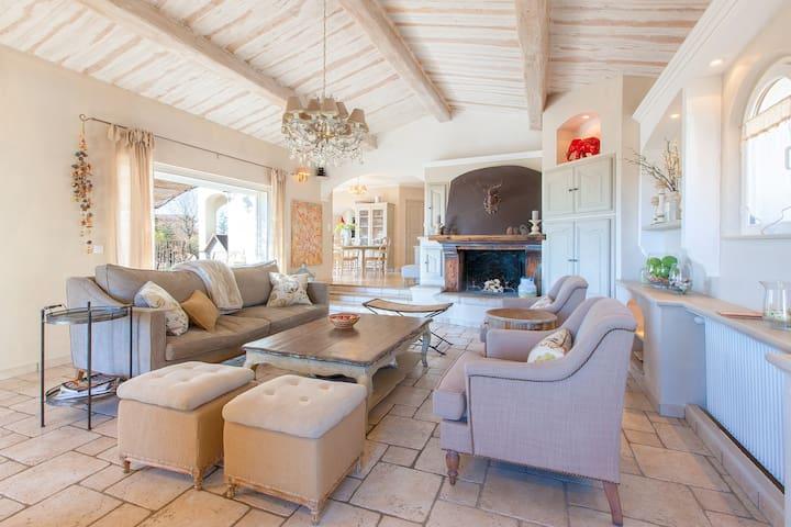 Stunning Cote d'Azur sea view villa - Cabris - Villa