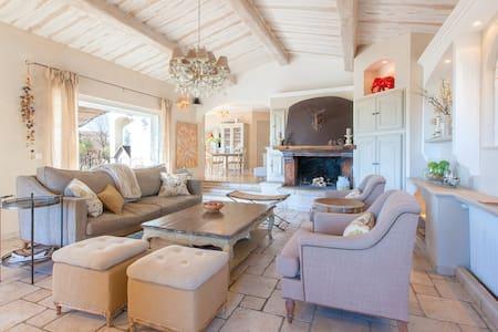 Stunning Cote d'Azur sea view villa - Cabris - Vila