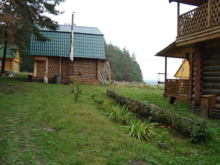 Дом на природе (верхний номер люкс)