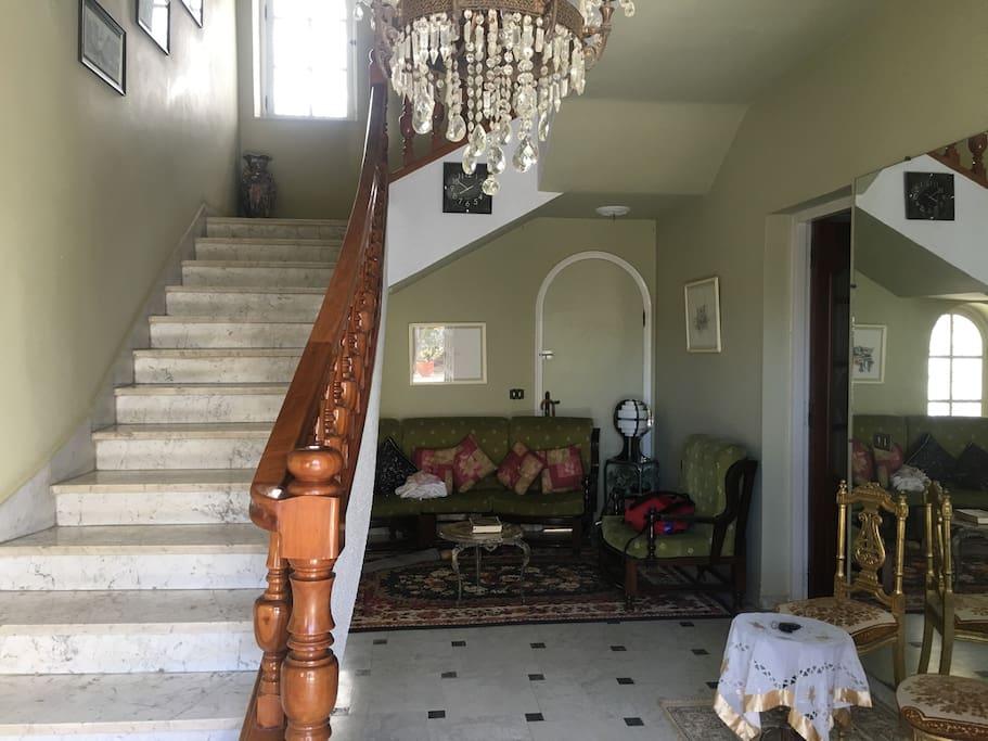Hall et Escalier pour la suite