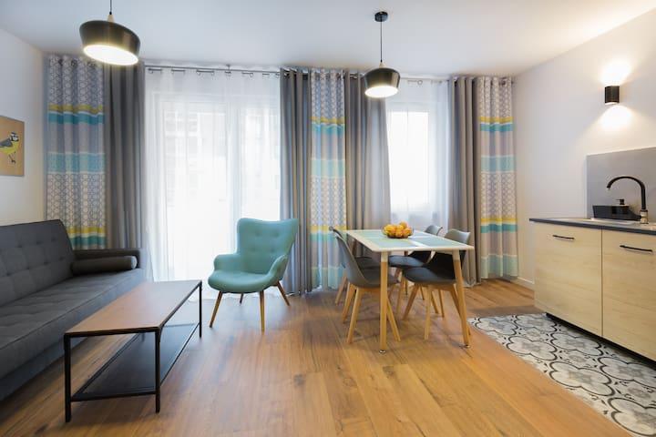 Apartament Stegny Mokotów