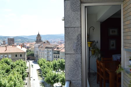 Big flat in the center of the city - Orense - Appartement