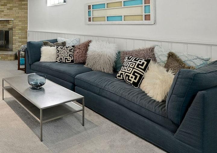 Casa Piccola clean, convenient & cozy 3BR/2Bath