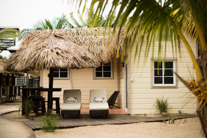 Front of La Casita from the beach side