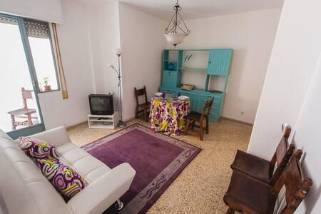 Piso céntrico y espacioso. - Granada - Apartment