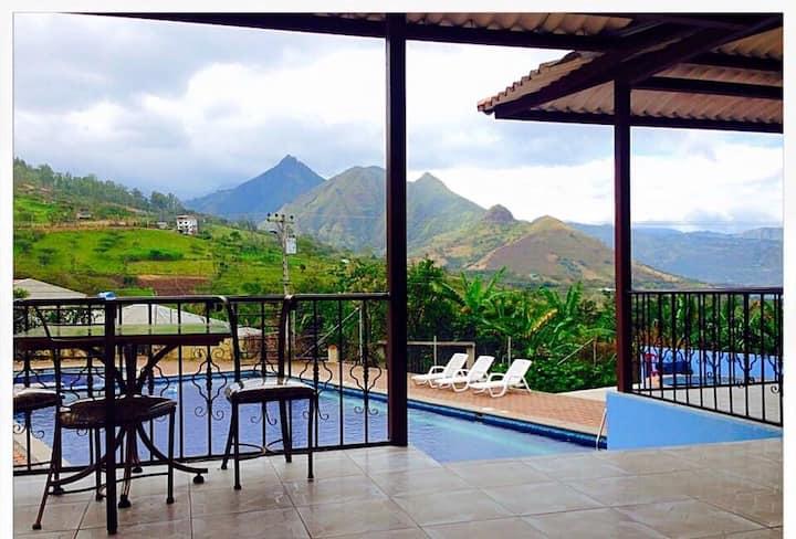 Vista Del Valle//Santa Isabel🌱☀️