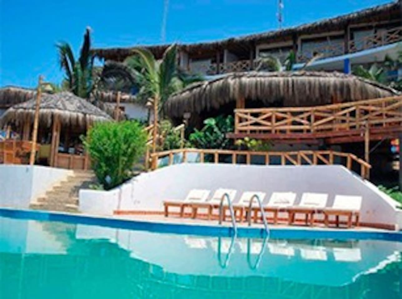 Sede loma parte alta del hotel Costa Blanca.