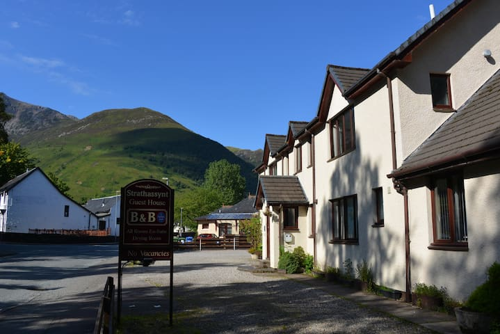 Strathassynt B&B (near Glencoe) Twin Room ensuite