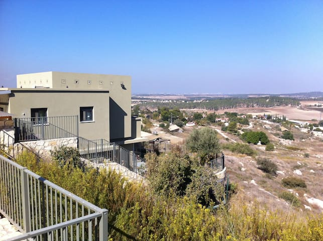 Beautifull peacefull large villa - Kfar Uria - Casa