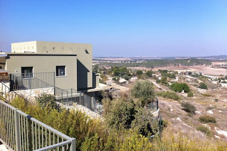 Beautifull peacefull large villa - Kfar Uria - Hus