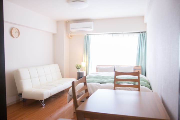 KYOTO quiet bright room! near downtown