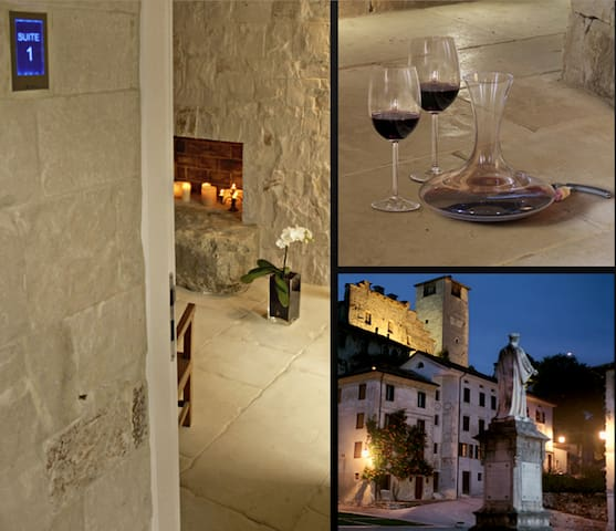 ViaParadiso32 suite3 Dream&love - Feltre - Szoba reggelivel