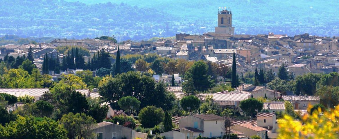 Centre historique et vue sur le Luberon - Pertuis - Appartement