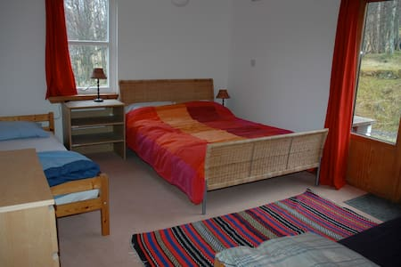 Loch Voil Hostel family room - Balquhidder