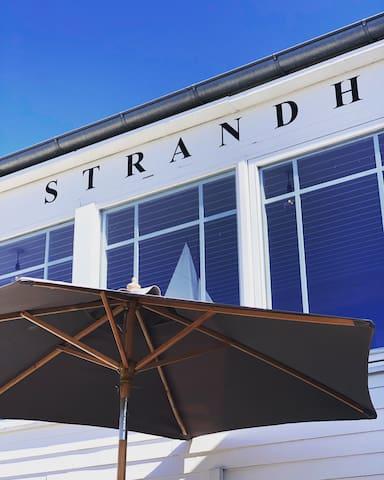 Tisvildeleje Strandhotel - inkl morgenmad