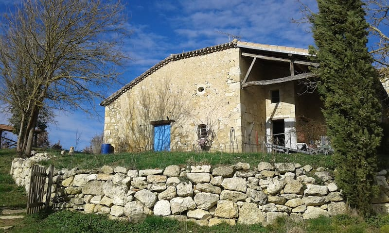 "self-catering cottage in ""rural Gascony"" - Saint-Mézard - Nature lodge"