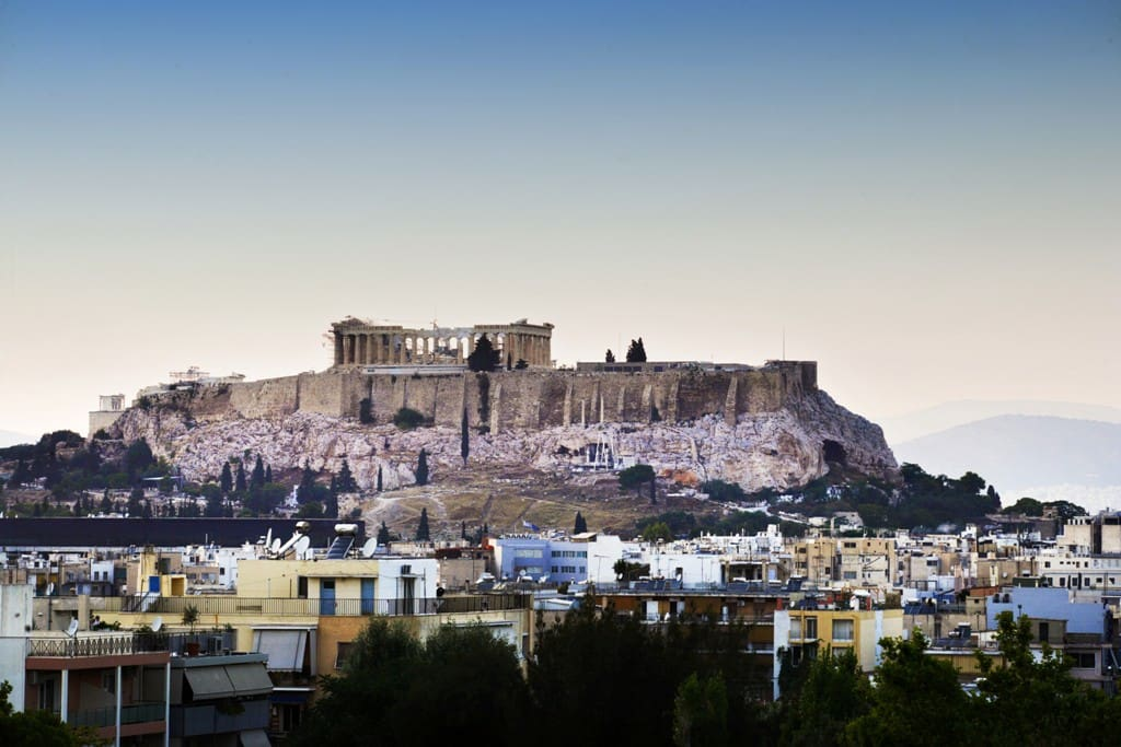 Amazing Acropolis View from the Balcony