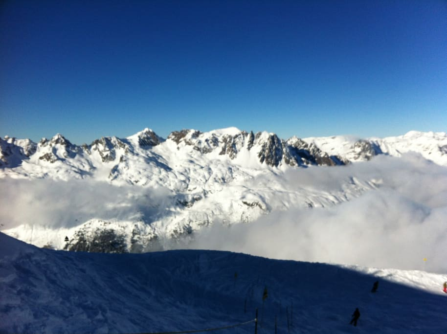 view from grand montets