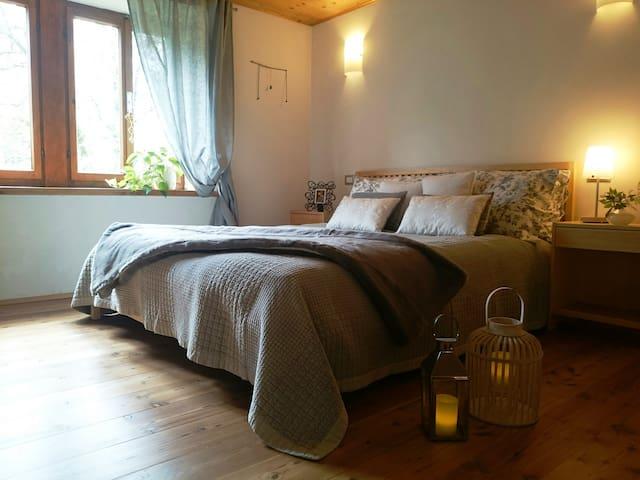 Private room _ Calm Villa & Wellness _ Borgata Dueibis _ Verzegnis(UD) _ Friaul-Julisch Venetien _ Italy