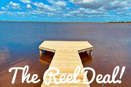 """Fish and relax at """"The Reel Deal!"""""""