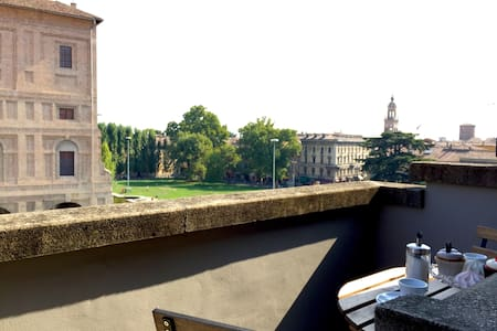 Attic by Palazzo della Pilotta with view - Parma - Apartment