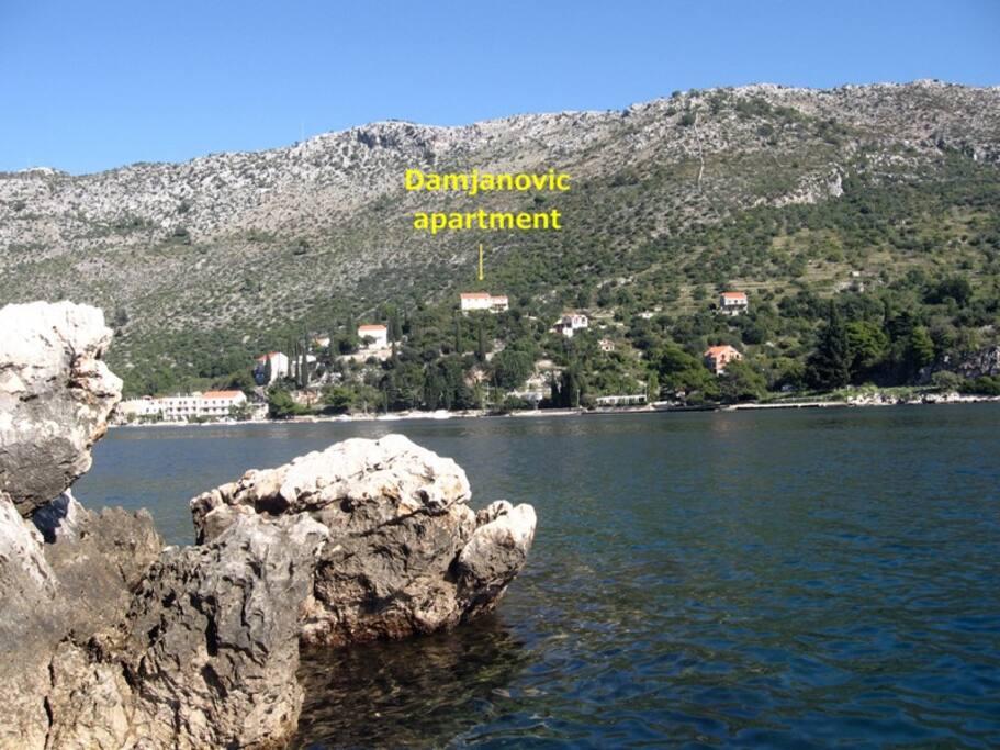 Damjanovic apartment - best view !