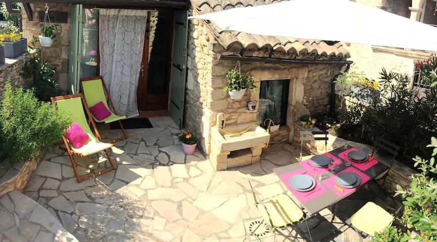 Joli & spacieux mazet de charme - Goudargues - Ház