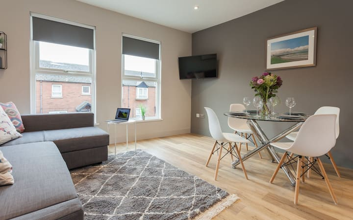 Luxury Duplex Apartment 3 minutes from city centre