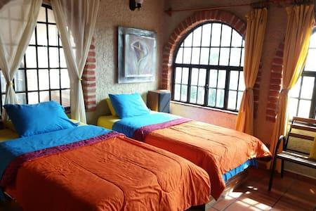 Suite terraza chalet.