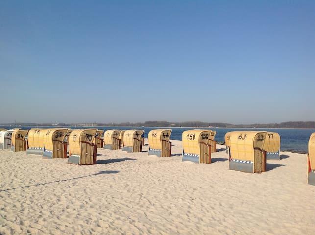 """Ferienwohnung """"Jette"""" inkl. Strandkorb in Laboe"""