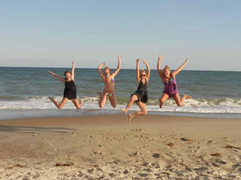 Kids enjoying our Beach!