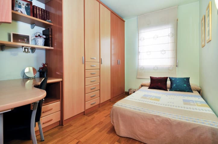Super nice room with sunny terrace - Barcelona - Apartament