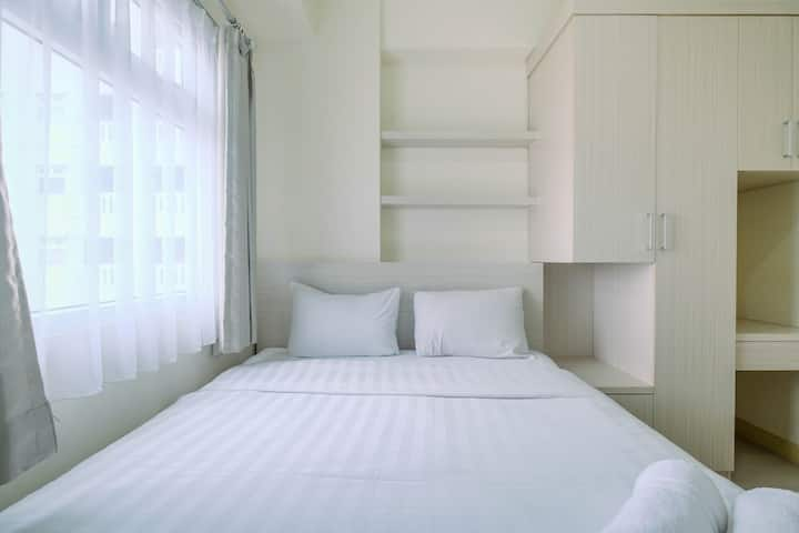 Chic and Cozy 2BR Apartment at Green Pramuka City