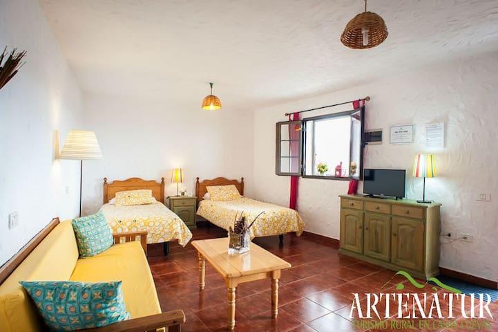 Apartamento El Roque (Artenatur) - Artenara - Appartement