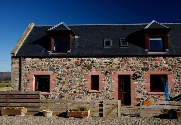 4* cottage on working farm sleep 4+2, Perthshire - Forgandenny - Haus